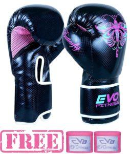 Evo Fitness Ladies GEL Rex - Boxhandschuhe aus Leder für Damen